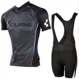 Wholesale Racing Bike Cube - Pro Cube Team Jersey Cycle Clothing Ropa Ciclismo Racing Bike Cycling Jerseys Mountain Bicycle Jerseys Cycling Wear