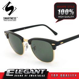 Wholesale Top Men Models - Handmade 2016 new collection 003016 model square frame sunglasses men and women top quality pilot G15 glass lenses sport vintage style