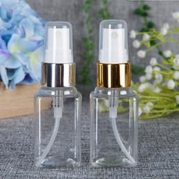 Kleine sprühflaschen online-Kleine klare leere Plastikparfümflasche 40ml Spray füllt Behälter-Behälter-Flaschenparfümmusterphiolen ab