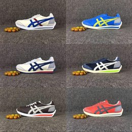 Wholesale Womens Green Tennis Shoes - Asics Onitsuka Tiger Running Shoes Mens And Womens Comfortable Simple Style Athletic Outdoor Sport Shoes Sneakers Eur36-44 Free Shipping