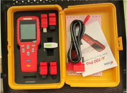 Leitor de código pino opel on-line-XTOOL Original X100 Pro X-100 cloner transponder Programador Chave Para Carros ECU Imobilizador Pin Code Reader X 100 Multi Marca carros