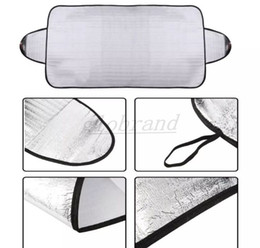 Wholesale Heat Shield Cover - Windscreen Cover Anti Ice Snow Frost Shield Dust Protection Heat Sun Shade Front Car Windshield EMS Free Shipping MYY