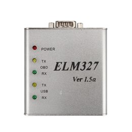Wholesale Volvo Can Bus Connector - ELM327 1.5V USB CAN-BUS Scanner Software Software V2.1 Supports Two Platforms DOS And Windows.