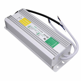 Wholesale Waterproof Led Driver Ip67 - New Arrival Original 100W AC110V-260V to DC12V 8.5A Waterproof IP67 LED Light Lamp Driver Outdoor Use Power Supply Transformer