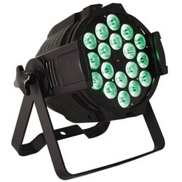 Wholesale Dj Light Uv - LED par Light 18pcs *12w rgbwa+uv 4in1 led INdoor light DMX512 stage lamp Stage Lighting Bar Party KTV DJ Dance Disco Light