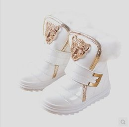 Wholesale Ankle Boots 12 - New Hot Sale Children Boots Girls Shoes Kids PU Patchwork Slip-resistant Fashion Martin Boots Girls Ankle Boots
