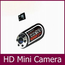 Webcam de visión nocturna hd online-Cámara de detección de movimiento gran angular 170 Mini cámara QQ5 Full HD 1080P 720P Cámara infrarroja de visión nocturna Mini DV PC webcam Soporte de salida de TV