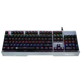 Tasti tasti illuminati online-Chiave meccanica della tastiera della luce del LED RGB della tastiera di RGB del tastiere del metallo di Waterprof del metallo originale senza conflitto