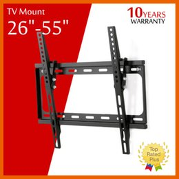 Wholesale Lcd Led Tv 55 Inch - TV Wall Mount Bracket Flat Panel Tv Fixed Mount HDTV Mount 26 32 39 40 42 50 55 inch for LCD LED Screen