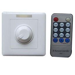 Wholesale Hot Dimmer Switch - 1pcs Hot sale 110V 120V 220V 240V 300W SCR Triac LED Dimmer Switch Dimmable Spot Lights Downlights