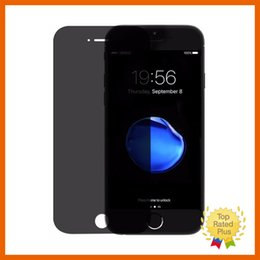 Wholesale Privacy Screen Matte - Privacy Anti Spy Tempered Glass Screen Protector Film for iPhone 7 Plus 6 6s with Retail Box High Quality