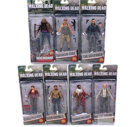 Canada Séries télévisées AMC The Walking Dead Abraham Ford Bungee Walker Rick Grimes Le gouverneur PVC Action Figure Collection Jouet cheap walkers toys Offre