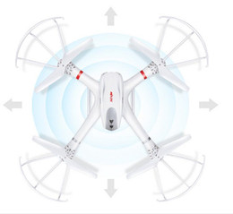 Wholesale Helicopter Mjx - Profession Drones MJX X101 Quadcopter 2.4G 6-Axis RC Helicopter with Gimbal with 720P C4008 FPV Wifi Camera HD VS SYMA X8C X600 fashion