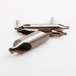 Wholesale Wholesale Diamond Drill Bits - 5 HSS Combined Center Drills Countersinks 60 Degree Angle Bit Set NCPC Tool B00012 BARD