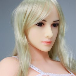 Wholesale Sex Shops - 165cm silicone sex dolls actual size full silicone vagina and breast,real human doll,metal skeleton,adult products sex shop,cosplay dolls