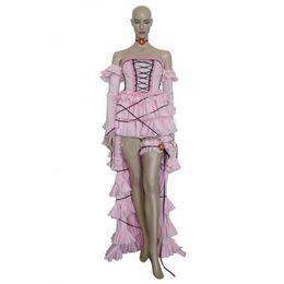 Wholesale Movies Beautiful Women - Anime Beautiful Handmade Chobits Chii Pink Dress Cosplay Costume Halloween Clothing Customized Halloween Chrismas Female Theme Costume