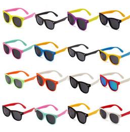 Wholesale Kids Polarized Sunglasses - Kids Sunglasses Polarized Sunglasses Child Baby Safety Coating Sun Glasses Eyewear Shades Infant oculos kids Outdoor Sunglasses KKA3338