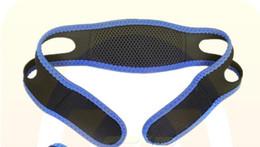 Anti Ronco Chin Strap Neoprene Parar Ronco Queixo Cinto de Suporte Anti Apnéia Jaw Solução Sono Dispositivo 2017 Novo de
