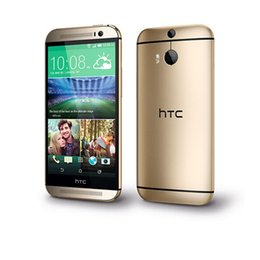 """Wholesale One Android Phone 13mp - Original HTC One M8 Unlocked GSM 3G 4G Android 5.0 Quad core RAM 2GB 32GB Mobile Phone 5.0"""" 13MP refurbished"""