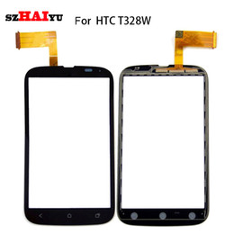 Wholesale Desire Sv - For HTC Desire G8 G10 G11 G12 G13 SV T328E T328W T528T Touch Screen -- Tested Good Working Black Sensor Digitizer Assembly + Tools