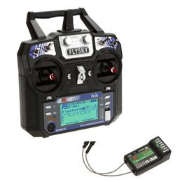 Wholesale 6ch Rc Receiver - FlySky FS-i6 2.4G 6CH AFHDS RC Transmitter With FS-iA6B FS A8S 8CH Receiver