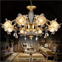 NEU Full Kupfer Europäischen Tsinghua Luxus, Klassische Atmosphäre  Wohnzimmer Lampe, American Style Restaurant Lampe 8H 10H