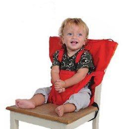 Wholesale Eat Chair Portable - Sack'n Seat Kids Safety Seat Cover Baby Portable Seat Cover Upgrate Baby Eat Chair Seat Belt For 8M+ Baby