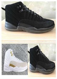Wholesale Canvas Shoes For Low Price - Air Retro XII 12 Fashion AAAA basketball shoes for men athletic trainer sports footwear 12s black white sneaker Price