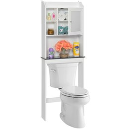 Wholesale Best Savers - Best Choice Products Bathroom Over-the-Toilet Space Saver Storage Cabinet- White