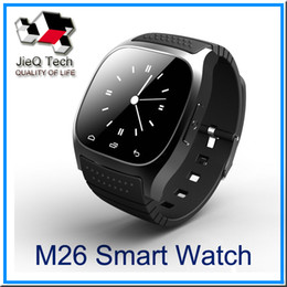 Wholesale Watches Retail Men - Smart Watch M26 U WatchWrist Watch For iPhone 6 6S Android Phone Smartwatch for Men With Retail Box VS U8 smartwatch