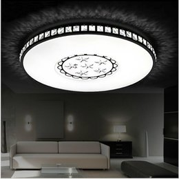 kids modern ceiling lighting Promo Codes - New design Ultra-thin Surface mounted modern led ceiling light for living room kids bedroom kitchen home decoration lamp fixtures
