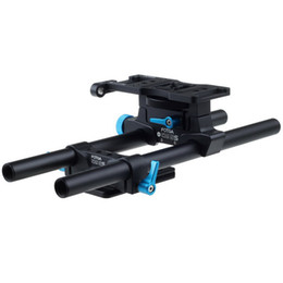 Wholesale Dslr Support Rig - FOTGA DP500IIS DSLR 15mm Rod Rail Support Cheese Baseplate For Follow Focus Rig