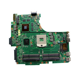 Wholesale Ram Board - 60-N1QMB1100 N53SV Main Board Rev 2.2 For ASUS N53S N53SV Laptop Motherboard nvidia GT 540M 1G GPU Included 4 RAM Slots