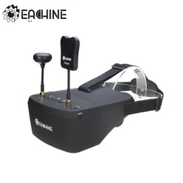 Wholesale Motor Dvr - In Stock!! Eachine EV800D 5.8G 40CH 5 Inch 800*480 Video Headset HD DVR Diversity FPV Goggles With Battery For RC Model