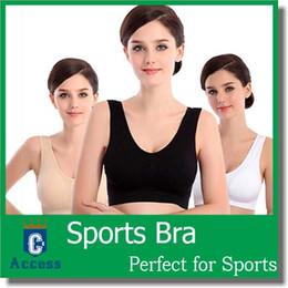 Wholesale Sports Bras Plus Size Wholesale - 13 colors Sexy Bra women Women Comfort Leisure Seamless Micro Fiber Sports Bra Support Vest Plus Size Sports Bras 6sizes
