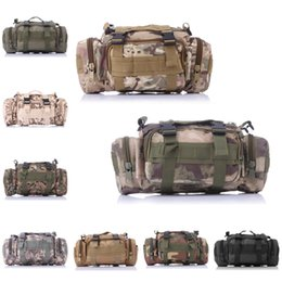 Wholesale Utility Art - 15L Utility Sport Sport Outdoor Military Rucksacks Tactical 3P Magic Pockets Camping Hiking Bags 9 Color Free DHL E598L