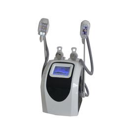 Wholesale Body Rf Handle - Two Handles Cryo Shape Cavitation Multipolar RF Cool sculption Fat Freezing Cryo Body Shape Vacuum Body Slimming Machine