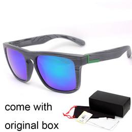Wholesale Wood Glasses Frames Men - Quick Fashion The Ferris Wood Sunglasses Men Sport Outdoor Eyewear Classic Sun glasses with original box Oculos de sol gafas lentes