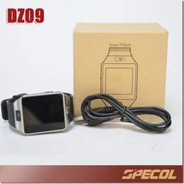 Wholesale Iwatch Wrist - DZ09 Smart Watch GT08 U8 Wrisbrand Android iPhone iwatch Smart SIM Intelligent mobile phone watch can record the sleep state Smart watch