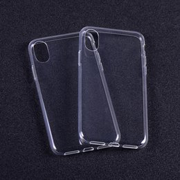 Wholesale Transparent Bag Iphone - For iPhone 8 Thick TPU Case Samsung Note 8 Cases Galaxy S8 Plus Clear Soft TPU Case High Quality 1.0mm Soft Transparent gel Case Opp Bag