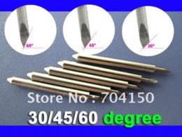 Wholesale Knife Blades Plotter - 5 pc 30 BLADE Roland Foison Liyu China Vinyl Sign Plotter cutter ,Lettering knife cutter clipper cutter grass