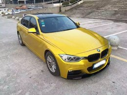 Wholesale Vinyl Wrap Gold Film - Car Styling Wrap Aurora Gold Car Vinyl film Body Sticker Car Wrap With Air Free Bubble For Vehiche Motorcycle 1.52*20M  Roll KF-F1044