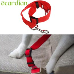 Wholesale Hot Dog Clip - Wholesale- Fashion Heaven Hot Pretty Vehicle Car Seat Belt Seatbelt Harness Lead Clip Pet Cat Dog Safety drop shipping Sep8