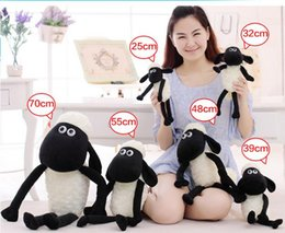 Wholesale Soft Toy Sheep - 25cm NEW Cute Sheep Lamb Plush Toys Doll For Girl Children's Baby Birthday Holiday Gift Send Kids Lovely Soft kid Toy