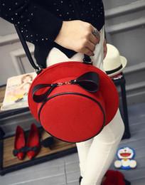 Wholesale Korea South Handbags - 2016 new Messenger Bag Japan and South Korea mini shoulder bag personalized hat creative handbags small package