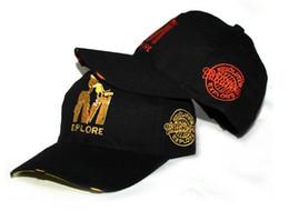 Wholesale Trucker Hat Style Men - Mix Colours M Explore Letter Korea Fashion Cotton Sun Hat Baseball Caps Wolf Summer Style Visors Trucker Cap for Unisex Men Women