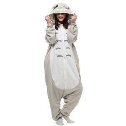 Wholesale Grey Christmas Pajamas - Japen Kigurumi Pajamas Adult Totoro Sleepwear Cosplay Christmas Halloween Costume Gift Present Onesies Party Jumpsuit