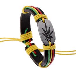 браслет lucky grass 12 шт. / лот мода кожаный браслет бесплатная доставка supplier lucky grass от Поставщики счастливая трава