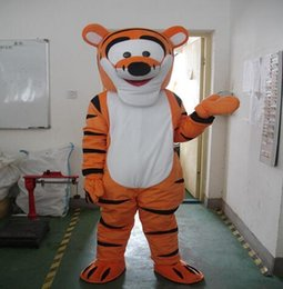 Wholesale Tigger Character Costumes - High quality Tigger Mascot Costume Cartoon Mascot Costume Character Costume Free Shipping