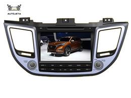 Wholesale Hyundai Ix35 Dvd Gps - 4UI intereface combined in one system CAR DVD PLAYER FOR HYUNDAI TUSCON IX35 2015 steering wheel control gps navi TV BT radio FREE MAP